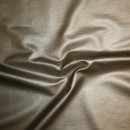 Bengalin/buksestof coated i læder-look guld