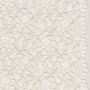 Blonde m/buet kant, ecru/lys off-white