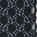 Rest Blonde med buet kant, mørkeblå- 40 cm.