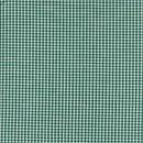 Rest Små-ternet bomuld grøn/hvid, 60 cm.
