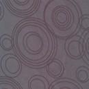 Dug-stof jacquard m/cirkler, grå