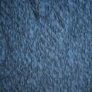 Jacquard i quiltet look, mørk klar blå