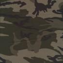 Isoli m/army-print grå-grøn/sort/army