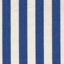 Rest Liggestole stof stribet blå/off-white- 160 cm.
