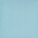 Netstof i polyester i turkis