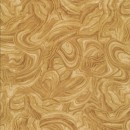 Patchwork stof i beige gylden brun