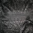 Rest sort quilt med smock-syning 85 cm.