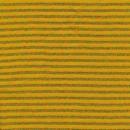 Stribet rib med lurex gul-carry -multifarvet