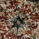 Satin rapport i mosaic-look