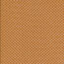 Silke m/lille mønster orange/lys brun/hvid