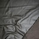 Rest Vindstof coated mørk grå-brun, 34-38 cm.