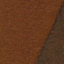 Filtet uld, lys rød-brun meleret