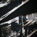 100% viscose mønstret sort/knækket hvid/sand/lysebrun