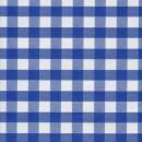 Voksdug i køkkentern, hvid/blå