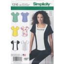 Simplicity 1316 Bluse