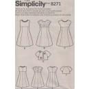 Simplicity 8271 Pige kjole og kort jakke