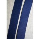 Elastik 25 mm. mørkeblå