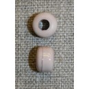 Beige perle 8x5 mm.
