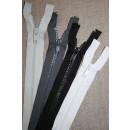 25-40 cm delbar plast lynlås