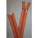 69 cm lynlås YKK, brændt orange