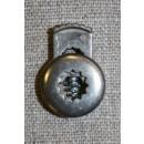 Snorstopper metal-look mat sølv