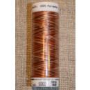 Broderitråd Mettler, multi brun/-brændt orange-kit