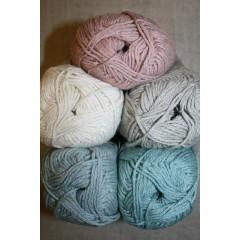 Cotton Linen, garn i bomuld hør
