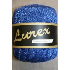 Lurex glimmer-garn, koboltblå