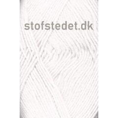 Merino Cotton - Uld/bomuld i Knækket hvid