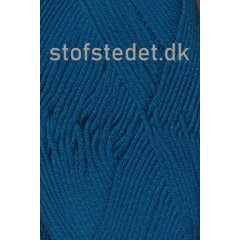 Hjertegarn | Merino Cotton i Petrol/blå