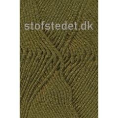 Merino Cotton - Uld/bomuld i Army