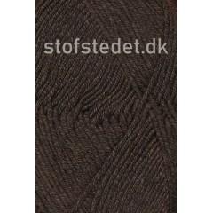 Hjertegarn | Merino Cotton - Uld/bomuld i Mørke brun