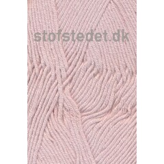 Merino Cotton - Uld/bomuld i Lys Pudder-rosa
