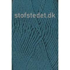 Hjertegarn | Merino Cotton - Uld/bomuld i Petrol/grøn