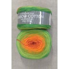 Rainbow Cotton 100% bomuld i orange oliven lime græsgrøn