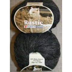 Rustic Baby Alpaca, koksgrå