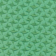 Jacquard strik i hanefjeds-look, mint/grøn