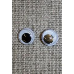 Bamse øjne -Rulleøjne 8 mm.