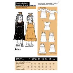 Onion 20036- Empire kjole & spencer til strik