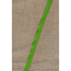 Paspoil-/piping bånd i bomuld, lime-grøn