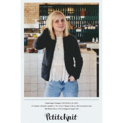 Copenhagen cardigan - PetiteKnit strikkeopskrift