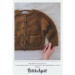 Ellens Cardigan - PetiteKnit strikkeopskrift