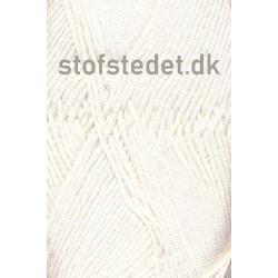 Blend Bamboo-/bomuldsgarn i Off-white   Hjertegarn