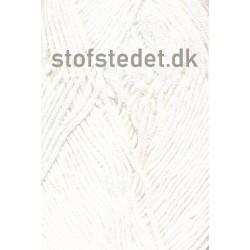 Blend Bamboo-/bomuldsgarn i Hvid   Hjertegarn