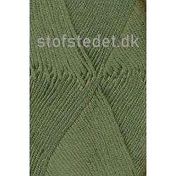 Blend Bamboo-/bomuldsgarn i Army   Hjertegarn