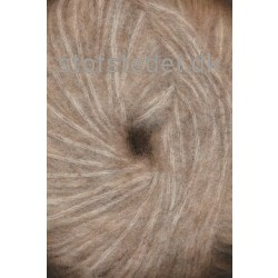 Børstet uld fra Hjertegarn i beige