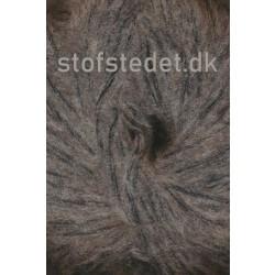 Børstet uld fra Hjertegarn i grå