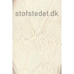 Lana Cotton 212- Uld-bomuld i Knækket hvid
