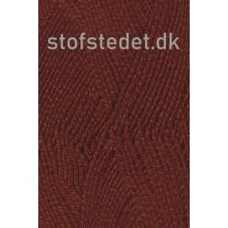 Lana Cotton 212- Uld-bomuld i Meleret Rødbrun