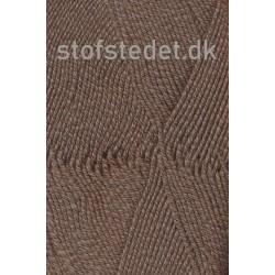 Lana Cotton 212- Uld-bomuld i meleret mørkebrun